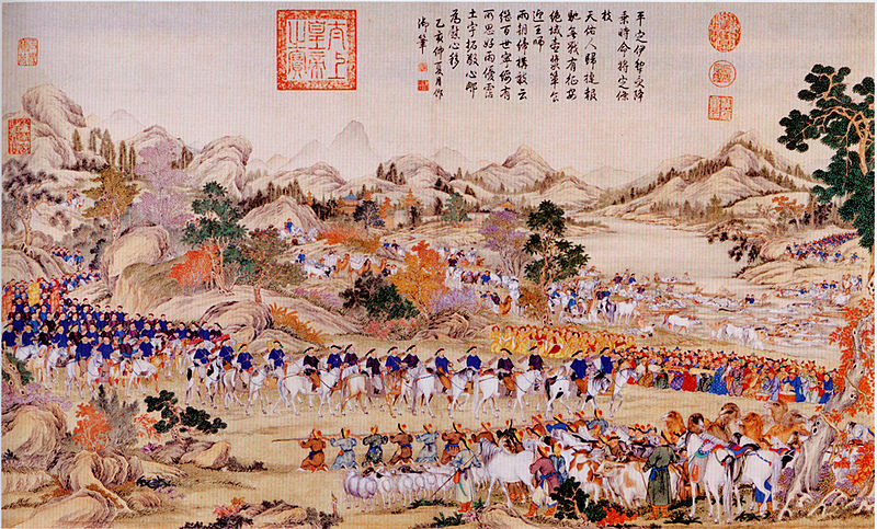 Qing Campaign in 1755