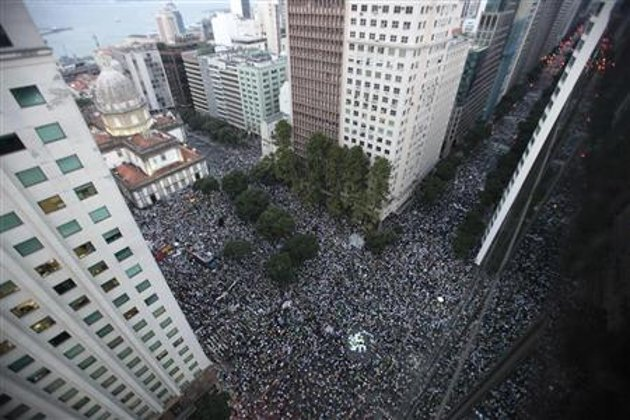 Protests Have Erupted Across Brazil