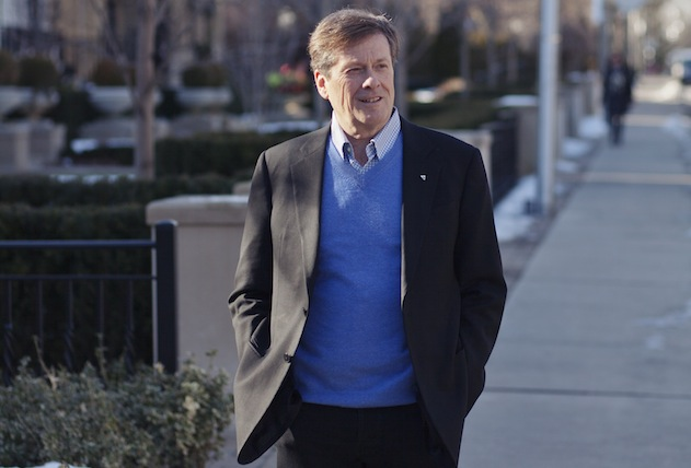 John Tory: Toronto elitism personified