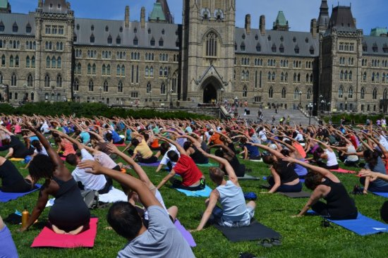 Yoga Parliament Hill