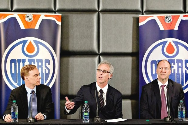 The Oilers Current Management Structure