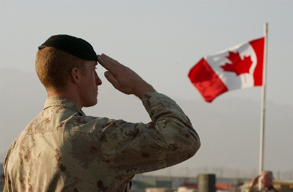 Canadian solider
