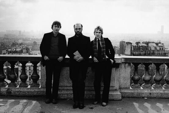 Amis, Hitchens, James Fenton by Angela Gorgas