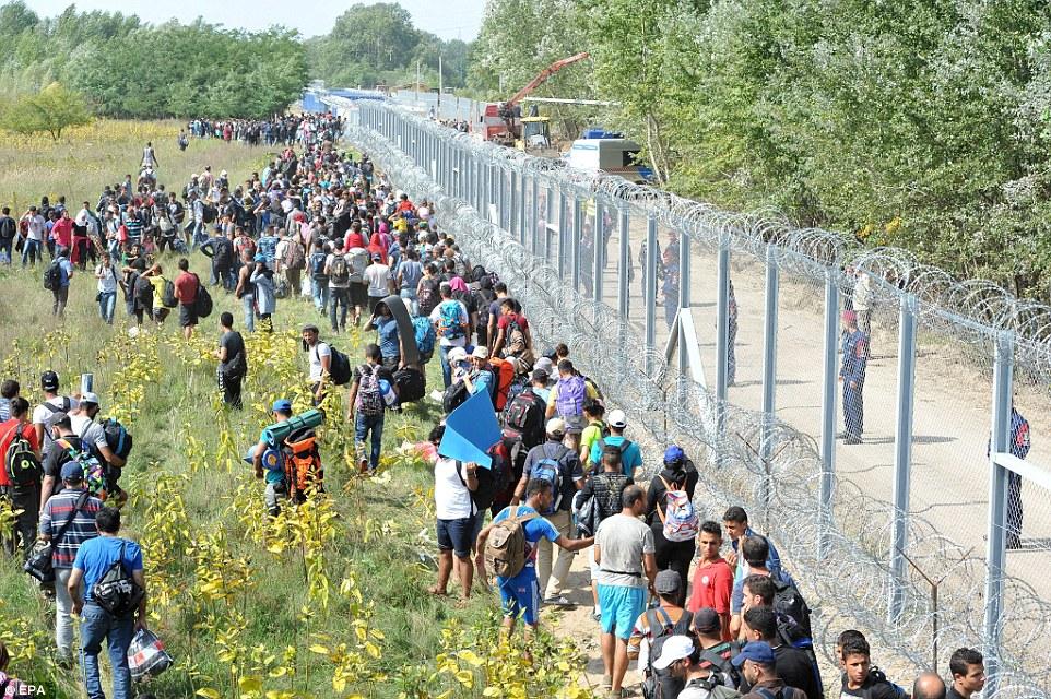 Hungary Border Fence AFP