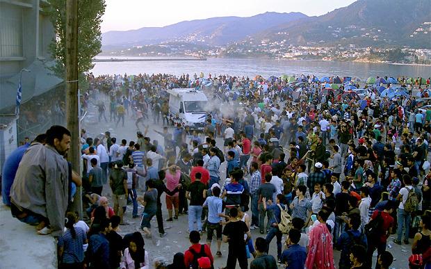 Lesbos migrants EPA_Stratist Blaskas
