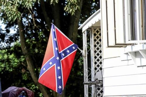 Confederate Flag- Porch